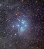 M45: The Pleiades Star Cluster  by Phillip L. Jones VisualUniverse.org