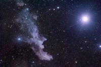 A Witch by Starlight by Star Shadows Remote Observatory