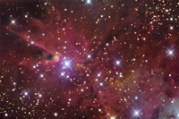 The Mysterious Cone Nebula  by R Jay GaBany (Cosmotography.com)