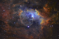 NGC 7635: The Bubble Nebula by Russell Croman
