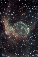 NGC 2359: Thor's Helmet  by Christine and David Smith, Steve Mandel, Adam Block (KPNO Visitor Program), NOAO, AURA, NSF