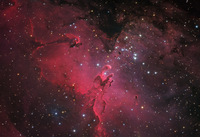 M16 and the Eagle Nebula by Johannes Schedler (Panther Observatory)