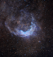 Windblown NGC 3199 by Ken Crawford (Rancho Del Sol Observatory), Macedon Ranges Observatory