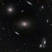 M86 in the Virgo Cluster by Greg Morgan (Sierra Remote Observatories)