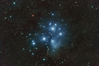 M45: The Pleiades Star Cluster by Antonio Fernandez-Sanchez