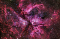 The Great Carina Nebula by Robert Gendler and Stephane Guisard