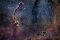 The Elephant's Trunk in IC 1396  by Brian Lula