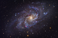M33 Triangulum Galaxy by Roth Ritter