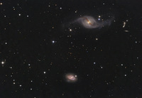 Galaxies in View  by  Johannes Schedler (Panther Observatory)