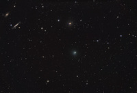 Stars, Galaxies, and Comet Tempel 1 by Johannes Schedler (Panther Observatory)