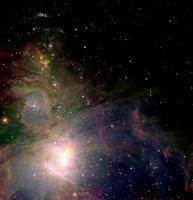 UKIRT: Aloha Orion  by Joint Astronomy Centre; image processing by C. Davis, W. Varricatt