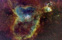 IC 1805: Light from the Heart  by Richard Crisp