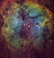 Emission Nebula IC 1396  by Richard Crisp