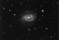 NGC 1300 by Dean Jacobsen; October 6 and 7, 2005