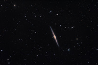 NGC 4565: Galaxy on the Edge by Roth Ritter (Dark Atmospheres)