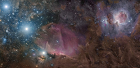 Orion's Belt and Nebulae - Rogelio Bernal Andreo - deepskycolors.com