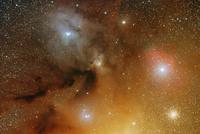 Antares / rho Ophiuchi region May 21, 2007