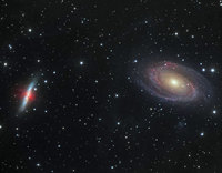 Galaxy Wars: M81 versus M82