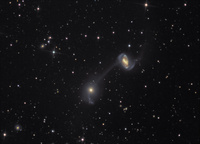 NGC 5216/8 Interacting Galaxies by Martin Winder