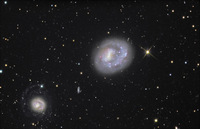 NGC4618/25 Galaxies by Martin Winder